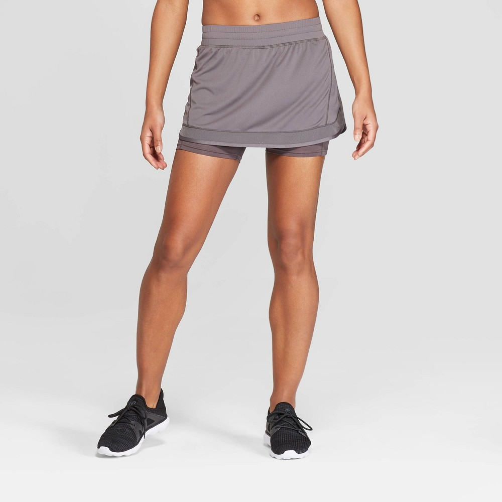 Image of Women's Running Mid-Rise Skirt - C9 Champion Gray XS