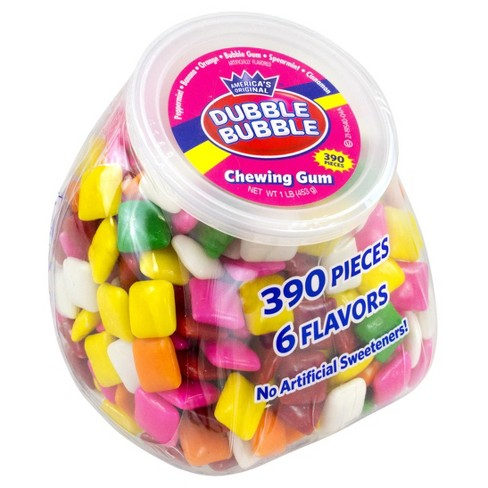 Dubble Bubble Chewing Gum Office Pleasures Tub, 390ct , 2pk - image 1 of 1