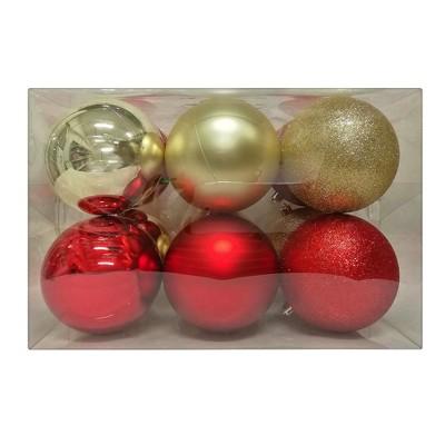 12ct Ornament Set Red/Gold - Wondershop™