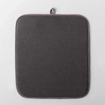 Kitchen Drying Mat Dark Gray - Made By Design™