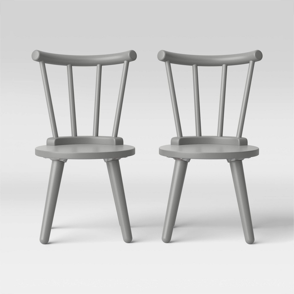 Image of Delta Children Homestead Chair Set - 2pc Gray