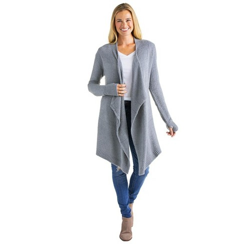 Softies Cozy Cloud Cardigan with Bracelet Thumb Holes - image 1 of 4