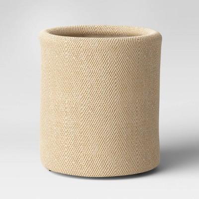 "16"" Weaved Concrete Planter Tan - Opalhouse™"