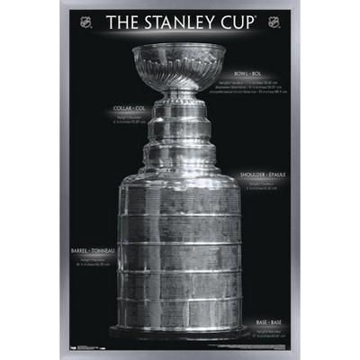 Trends International NHL League - Stanley Cup 16 Framed Wall Poster Prints