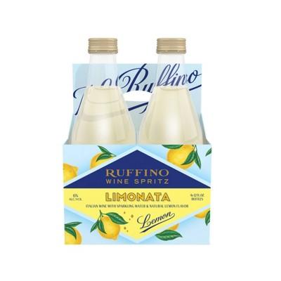 Ruffino Limonata Lemon Wine Spritzer - 4pk/355ml Bottles