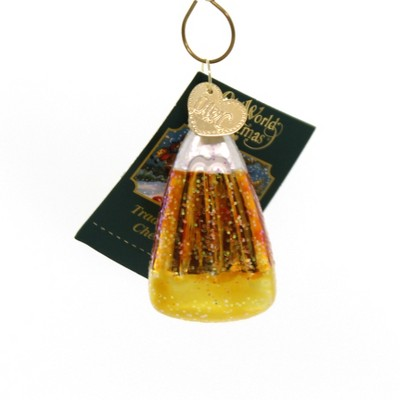 """Old World Christmas 2.0"""" Candy Corn Ornament Halloween  -  Tree Ornaments"""