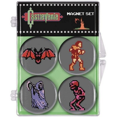 Dark Horse Comics Castlevania Classic Video Game Magnet 4-Pack