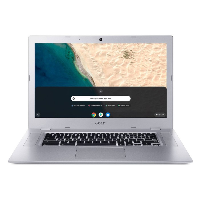 """Acer Chromebook 15 CB315-2HT-47WG Silver 15.6"""" FHD IPS Touchscreen - image 1 of 8"""