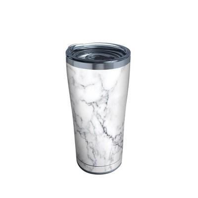 Tervis 20oz Stainless Steel Tumbler - White Marble