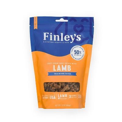 Finley's Lamb Soft Trainer Bite Dog Treats - 16oz