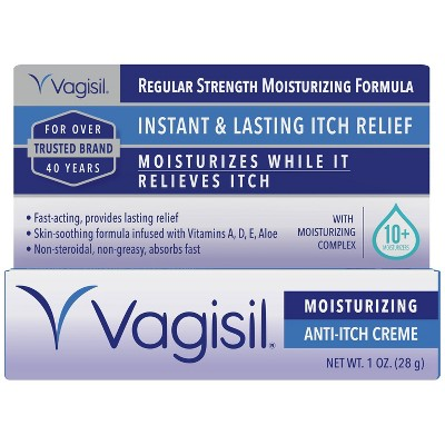 Vagisil Regular Strength Anti-Itch Feminine Creme - 1oz