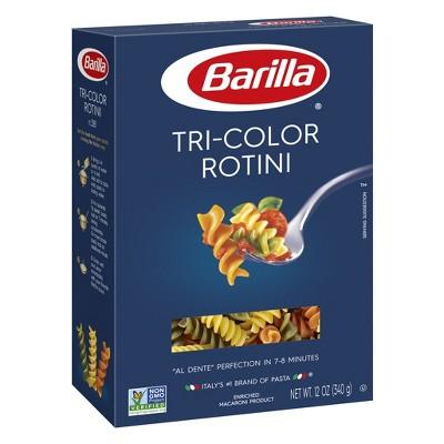 Tri-Color Rotini Pasta - 12oz - Barilla®
