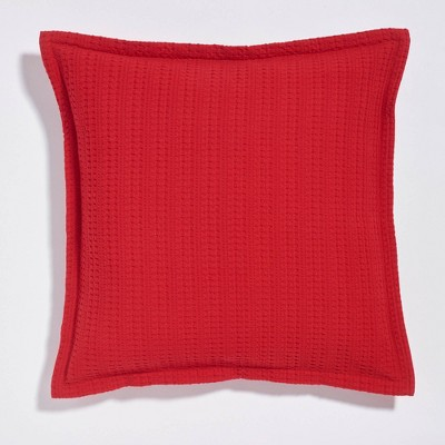 """20""""x20"""" Square Clive Textured Flange Throw Pillow - Sure Fit"""
