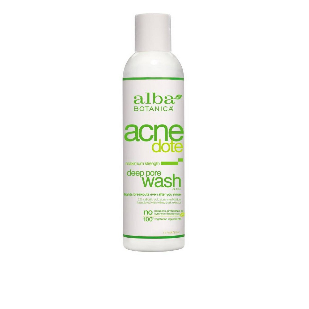 Image of Unscented Alba Acnedote Deep Pore Wash - 6oz
