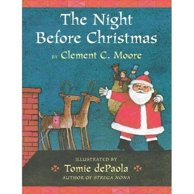 The Night Before Christmas - by Clement C Moore (Board_book)
