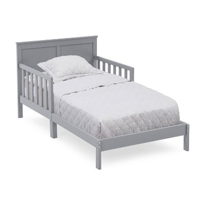 Collins Wood Toddler Bed, Greenguard Gold Certified Gray - Delta Children