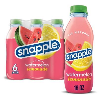 Snapple Watermelon Lemonade - 6pk/16 fl oz Bottles