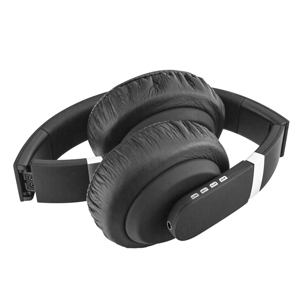 Sentry BT400 Bluetooth Headphones with Microphone - Black