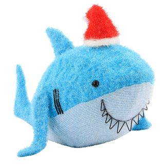 Christmas Incandescent Tinsel Shark Novelty Sculpture with 50 Lights - Wondershop™