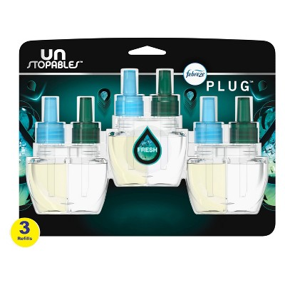 Unstopables Plug Fresh Refill with Fade Defy Technology - 3ct