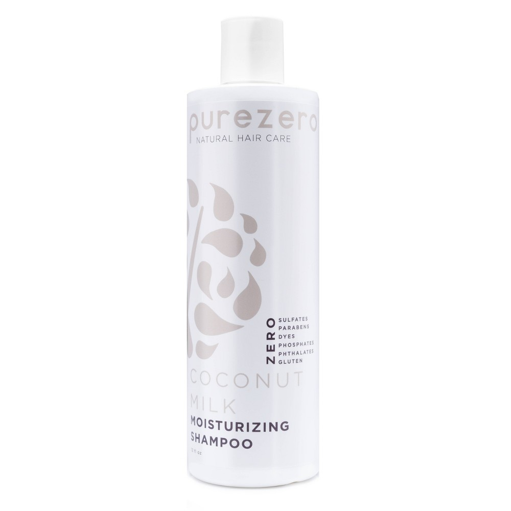 Image of Purezero Coconut Milk Moisturizing Shampoo - 12 fl oz