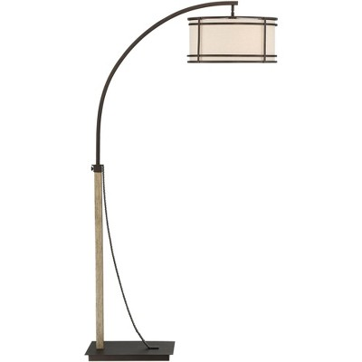 Franklin Iron Works Gentry Oil-Rubbed Bronze Downbridge Arc Floor Lamp