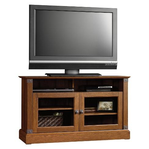 Carson Forge Shelf Tv Stand Washington Cherry Sauder Target