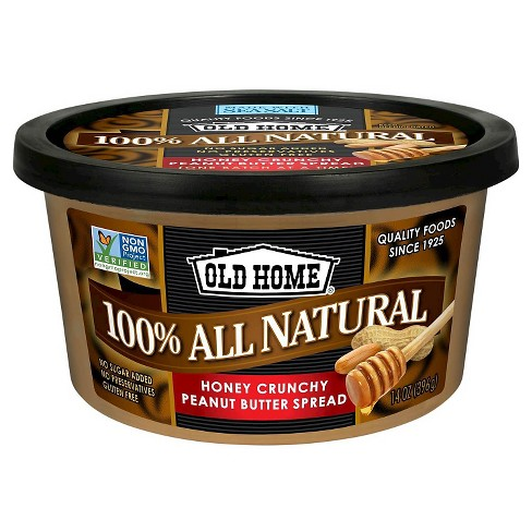 Old Home® Foods Honey Crunchy Peanut Butter Spread - 14oz - image 1 of 1