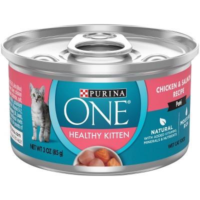 Purina ONE Kitten Chicken Wet Cat Food - 3oz