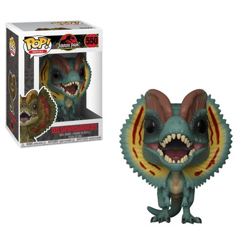 Funko POP! Movies: Jurassic Park 25th Anniversary - Dilophosaurus with Chase - Minifigure - image 1 of 2