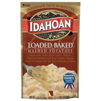 Idahoan Loaded Baked Flavored Mashed Potatoes 4oz