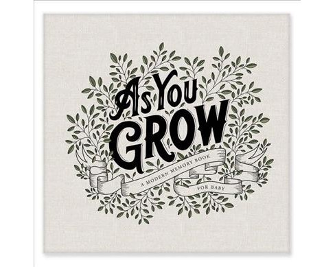 As You Grow : A Modern Memory Book for Baby -  by Korie Herold (Hardcover) - image 1 of 1