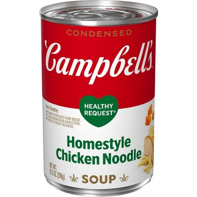 Campbell's Condensed Healthy Request Homestyle Chicken Noodle Soup - 10.5oz