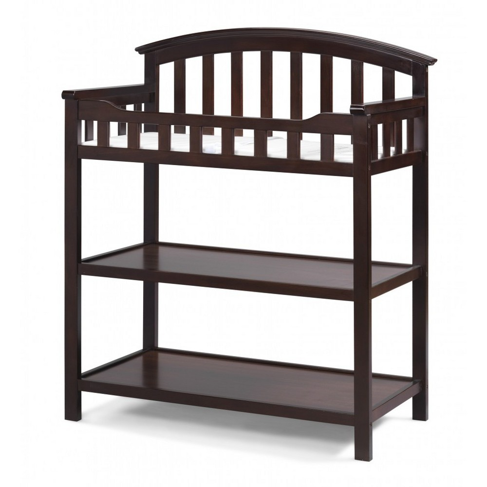 Image of Graco Changing Table - Espresso, Brown