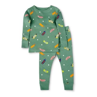 Toddler Caterpillar Print Top & Bottom Set - Christian Robinson x Target  Green