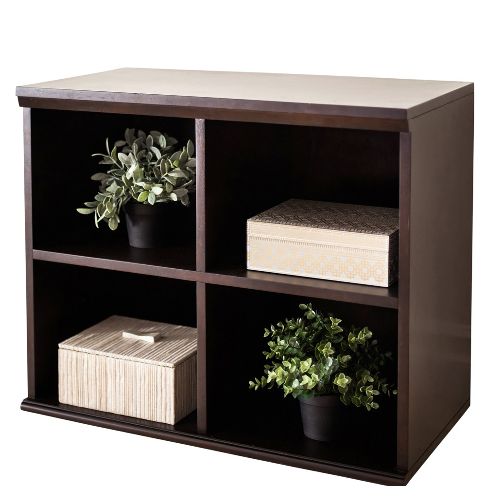 Image of 23 Beaufort Bookcase Brown - Abbyson Living
