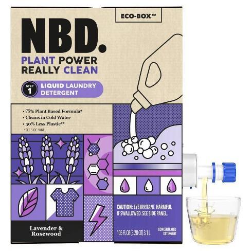 NBD Lavender & Rosewood Liquid Laundry Detergent - image 1 of 4