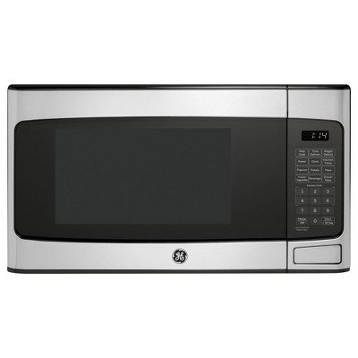 GE 1.1 Cu Ft Countertop Stainless Steel Microwave Oven (Manufacturer Refurbished)