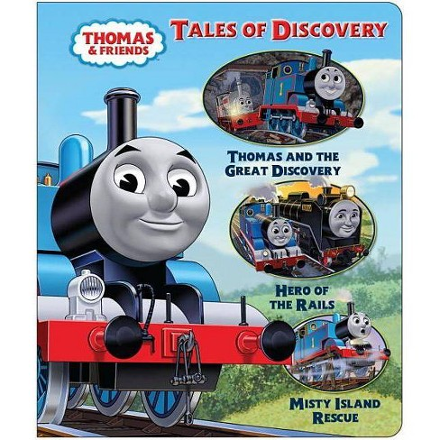 Tales of Discovery - (Thomas & Friends (Board Books)) by  W Awdry (Board_book) - image 1 of 1