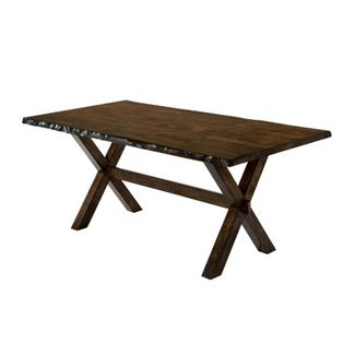 Kelley Rectangular Wood Dining Table Walnut - ioHOMES