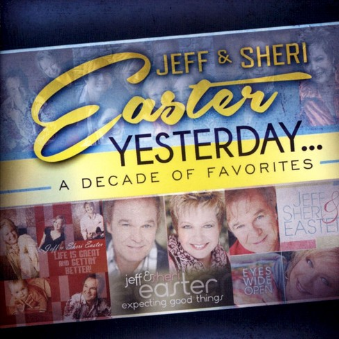 Jeff easter - Yesterday:Decade of favorites (CD) - image 1 of 1