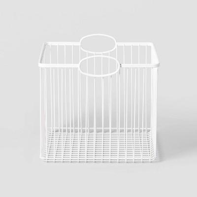 Medium Stackable Storage Wire Bin - Pillowfort™