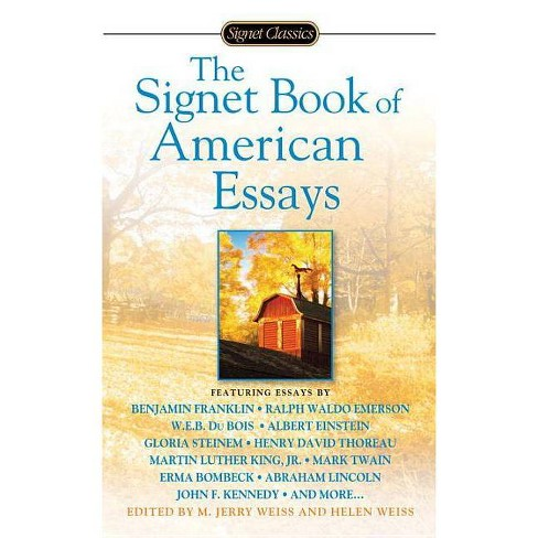 The Signet Book of American Essays - (Signet Classics) (Paperback) - image 1 of 1