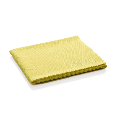 E-Cloth Glass & Polishing Microfiber Cleaning Cloth - Daffodil Yellow