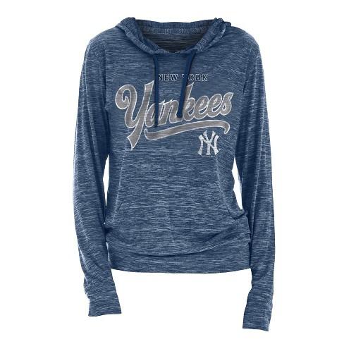 sale retailer 678e1 e037b New York Yankees Women's Spacedye Lightweight Hoodie - L