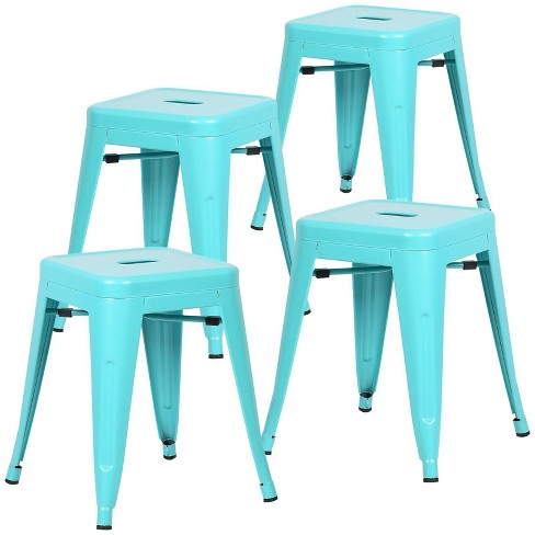 """Set of 4 18"""" Franco Industrial Stool - Poly & Bark - image 1 of 3"""