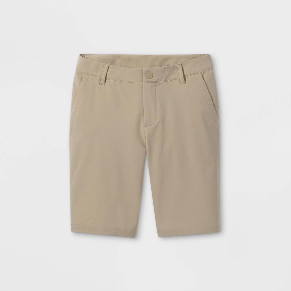 Boys 39 Golf Shorts All In Motion 8482 Khaki 12