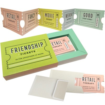 20ct Friendship Tickets Citron - Compendium