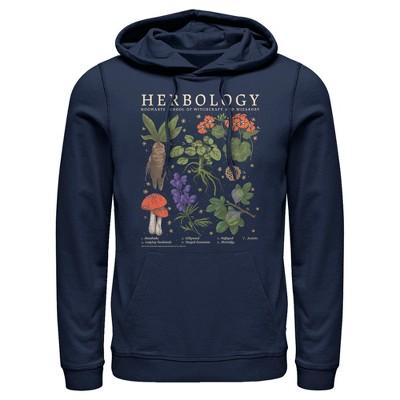 Men's Harry Potter Hogwarts Herbology Pull Over Hoodie