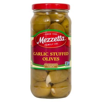 Mezzetta Garlic Stuffed Olives - 10oz
